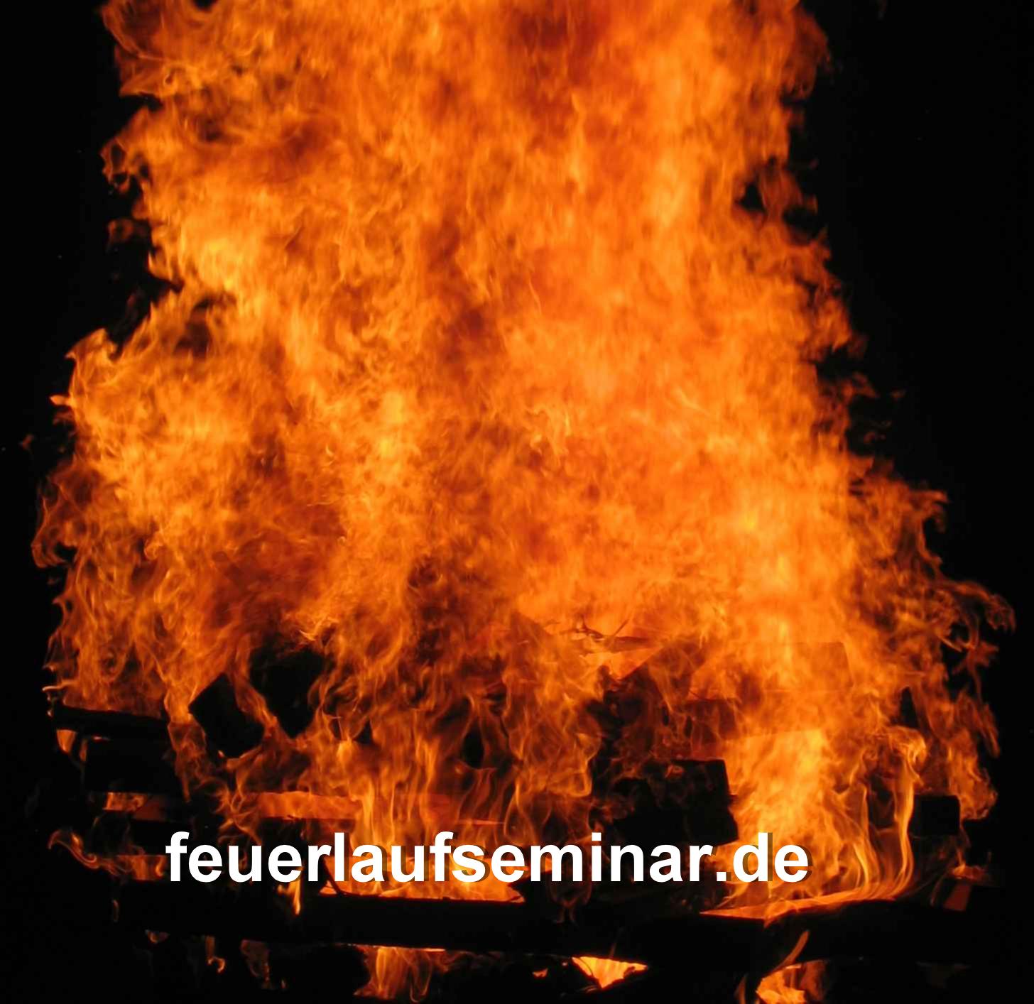 5 - Der Holzstapel brennt lichterloh